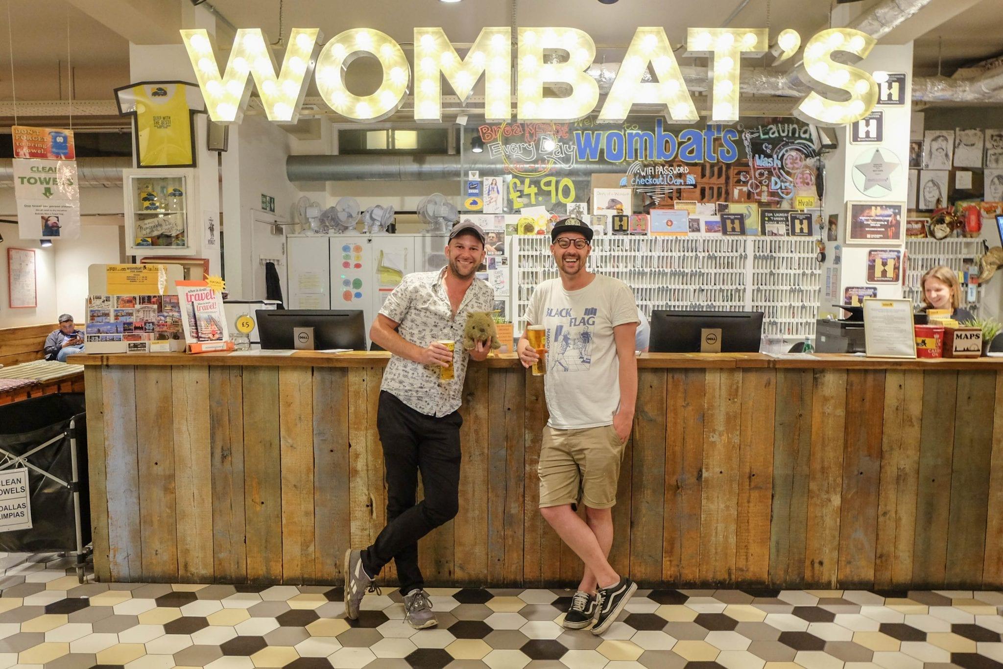 Reception At Wombats City Hostel London
