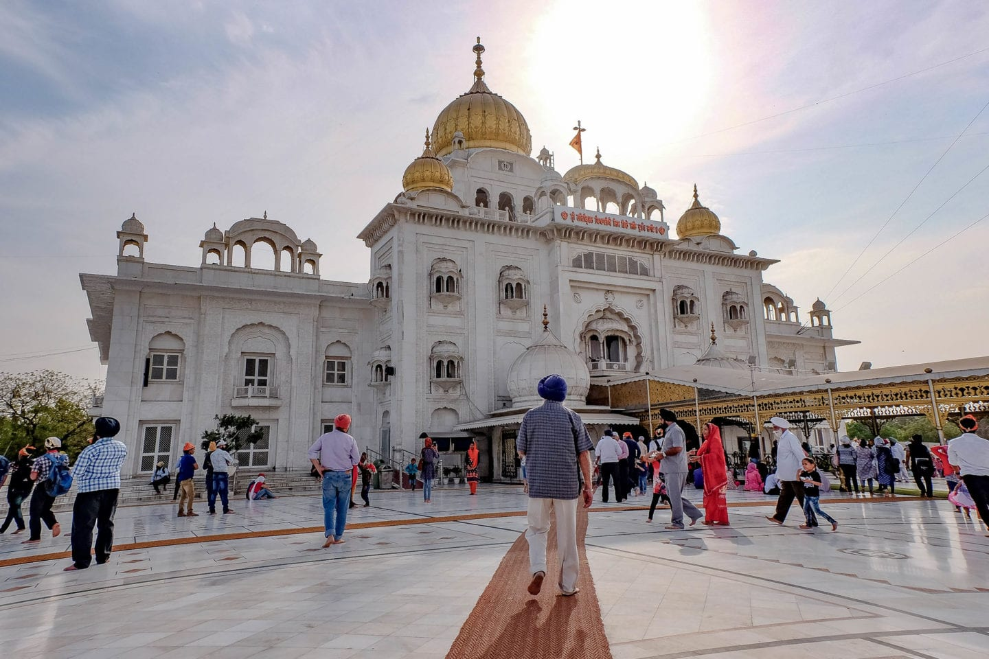 Image result for Bangla Sahib Gurudwara